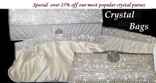 <b>Crystal Evening</b> Bags | Handbags | Purses | Clutches - Bella-Tiara.com