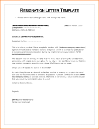 13 letter of resignation template word letter template word letter of resignation template word 131725605 png