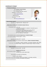 9 curriculum vitae form event planning template curriculum vitae format pdf resume templates