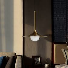 Single Head Modern Iron Glass Lampshade G9 LED <b>Pendant Lamp</b> ...