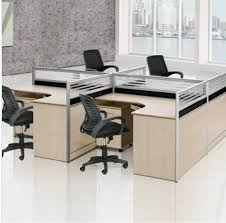 stylish combination desk staff tables bit office partition table cards head conference receptionchina cheap office partitions