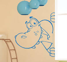 jungle animals wall stickers for kids rooms home door decor cartoon lion elephant giraffee decals pvc mural art diy posters
