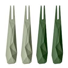 Купить <b>Набор из 4 шпажек</b> CLUB, зелёный Koziol 3133359 в ...