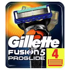 Сменные <b>кассеты</b> для бритья <b>Gillette Fusion</b> ProGlide (<b>4 шт</b> ...