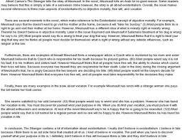 the stranger essayquot anti essays  mar  link to the stranger essays