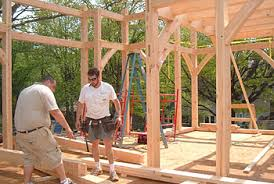 Sloan    s Mill Log and Timberframe Homes  North Carolina USA  Log    Log  amp  timber frame home packages complete   a supervisor