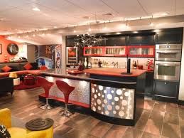 view in gallery basement bar with a funky and vivid theme from the 70s basement sports bar ideas