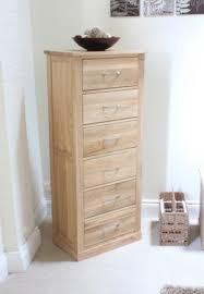 quick view mobel oak tallboy 6 drawer natural solid oak mobel solid oak dvd