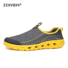 Zenvbnv <b>Men</b> Shoes 2018 Summer <b>Air Mesh Sport</b> Aqua Shoes ...
