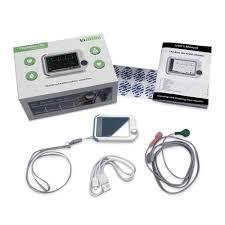 <b>Portable</b> Mini <b>wearable ECG</b> Monitor Measurement Machine Real ...