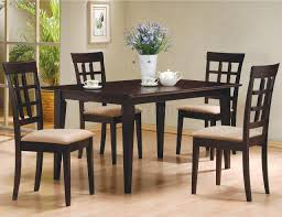 4 Piece Dining Room Sets Style Piece Dining Set Table Chairs Furniture Dinette Dining Sets