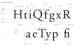 typography tips for graphic design students   david aireyletterform anatomy