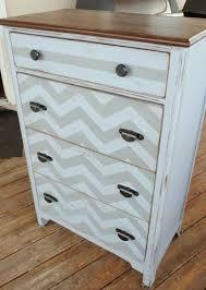 furniture flip diy chalk paint dresser chevron painted furniture