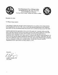 mt  juliet fire chief submits letter of resignation   mt  juliet    kinney    s letter of resignation copy