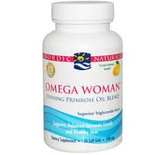 Nordic Naturals, <b>Omega Woman with Evening</b> Primrose Oil, 830 mg ...