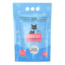 <b>Наполнитель</b> для кошачьего туалета <b>силикагелевый</b>, 3.8 л, <b>Си</b> ...