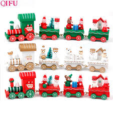<b>QIFU Wooden</b> Christmas Little Train <b>Decor</b> Christmas <b>Decor</b> For ...