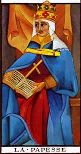 Resultado de imagen de la sacerdotisa