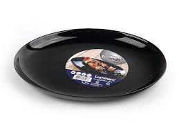 <b>Тарелка для стейка Luminarc</b> Friends Time Black M0065: купить за ...