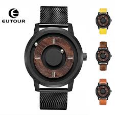 <b>2019 EUTOUR Magnetic Ball</b> Mens Watches Wterproof Top Brand ...