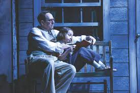 theater review to kill a mockingbird theater rochester city click to enlarge photo by ken huth skip greer as atticus finch and erin mueller as scout