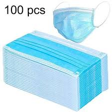 3 Filter Layer Disposable MediC Face Mask Triple Protection ...