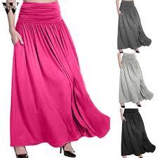 Womail <b>Skirt</b> Women NEW <b>Summer Bohemian</b> Leopard Print <b>Long</b> ...
