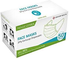 Qoco 50pcs Disposable 3-layer Masks, Anti Dust ... - Amazon.com