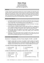 good cv examples for students sendletters info creating an effective cv to get that job businessprocess