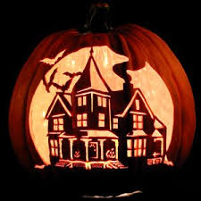 check out this haunted house carving holiday carved pumpkins idea how to check haunted house