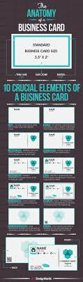 ideas about business cards business card the anatomy of a business card infographic
