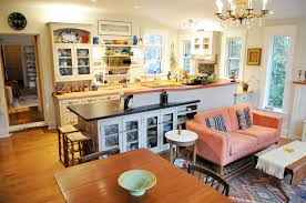 back to paint an open concept kitchen and living room beautiful open living room