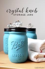 jar crafts home easy diy: decorative knob diy jars crafts unleashed