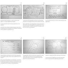 job application tracker farshad user experience and storyboarding