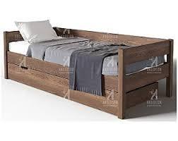 Односпальные <b>кровати</b> с ящиками <b>Андерсон</b>