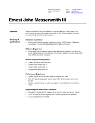 resume qualifications resume format pdf resume qualifications waiter functional resume example efficient resume template for sound and audio engineer expozzer