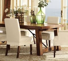 Fancy Dining Room Furniture White Tulips Dining Table Centerpieces With Manson Jars Styles