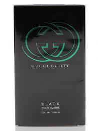 <b>Gucci туалетная</b> вод -<b>guilty black</b>, 90ml (86741), купить в интернет ...