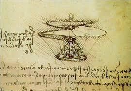A culinary masterpiece is like... The Da Vinci Flying Machine