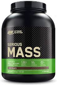 Optimum Nutrition <b>Serious Mass Protein</b> Powder <b>High</b> Calorie Mass ...
