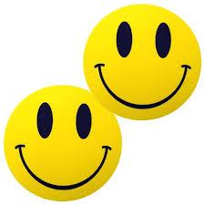 Slipmats Smiley (<b>1 Pair</b>/<b>1 Pair</b>) 0020102893 <b>New</b> 4250267678931
