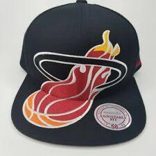 <b>Mitchell & Ness Miami Heat nba</b> вентилятор кепка, шапки ...