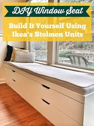 diy window seat from ikea stolmen drawers a better depth than kitchen cabinets and beautiful ikea closets convention perth contemporary bedroom