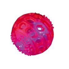 <b>Trixie Игрушка Мяч</b> светящийся силикон