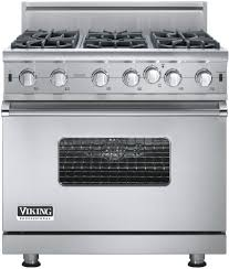 Gas Stainless Steel Cooktop Viking Vgic53616bss 36 Inch Pro Style Gas Range With Convection