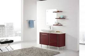 bathroom vanity unit units sink cabinets: freestanding red vanity modern bathroom vanity units and sink cabinets
