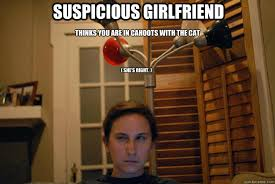 Suspicious Girlfriend memes | quickmeme via Relatably.com