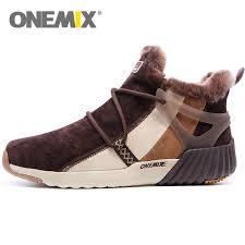 <b>ONEMIX</b> Men <b>Waterproof Snow</b> Boots Women Sneaker Male ...