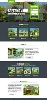 get % flat discount on landing page design and responsive design buy rent real estate property lead capture