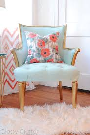 favourite corner with upcycled mint chair by classy clutter bedroomalluring members mark leather executive chair